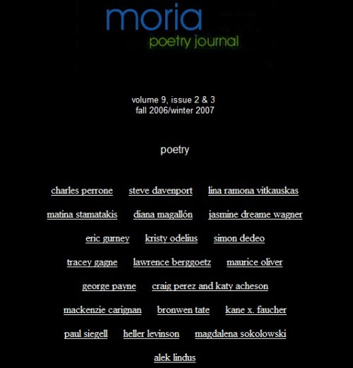 moria _ vol. 9 _ issue 2-3