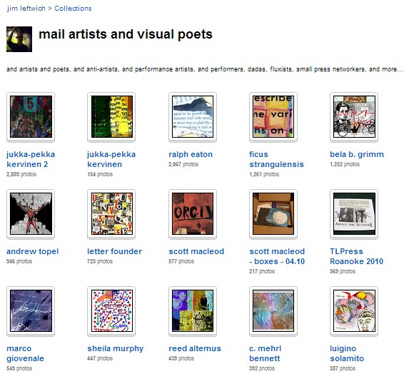 mailartists