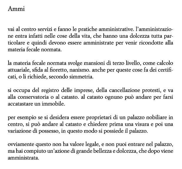MGiovenale_Ammi _da Prosa in prosa_2009