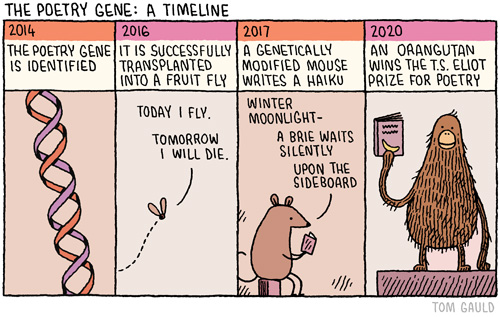 the poetry gene