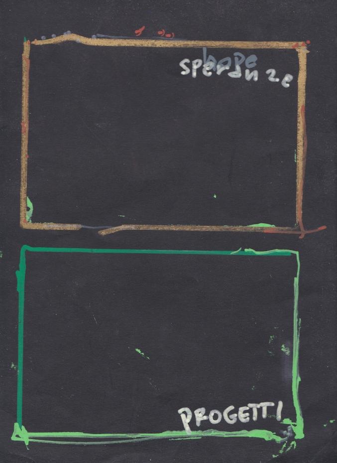 opera di Mario Schifano